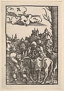 The Flight Into Egypt, from The Fall and Salvation of Mankind Through the Life and Passion of Christ