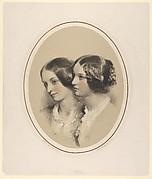 Portrait Busts of Two Women
