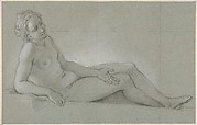 Study of a Reclining Female Nude