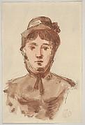 Portrait of a Woman (Mme Cornu, the artist's aunt)
