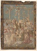 Calvary, from Life of the Virgin and Christ