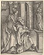 Solomon Adoring the Idols, from Women's Wile (Weiberlisten)