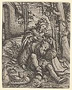 Samson and Delilah, from Women's Wile (Weiberlisten)