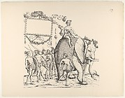 People from Calicut, from The Triumphal Procession of Emperor Maximilian (Triumph Des Kaisers Maximilian I)