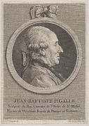 Portrait of Jean-Baptiste Pigalle