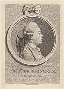 Portrait of Charles-Frédéric de Heinecken