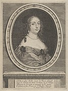 Portrait of Louise Marie, Queen of Poland and Sweden