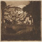 Landscape (from L'Estampe originale, Album VII)