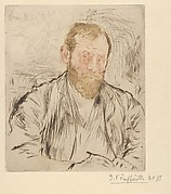 Raffaëlli, son par lui-même (Self-Portrait) (from L'Estampe originale, Album II)