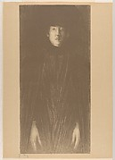 Woman in Hat and Cloak (from L'Estampe originale, Album V)