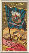 Arizona, from Flags of the States and Territories (N11) for Allen & Ginter Cigarettes Brands