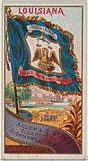 Louisiana, from Flags of the States and Territories (N11) for Allen & Ginter Cigarettes Brands