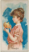 Orange, from the Fruits series (N12) for Allen & Ginter Cigarettes Brands