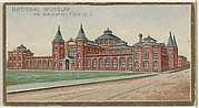 National Museum in Washington, from the General Government and State Capitol Buildings series (N14) for Allen & Ginter Cigarettes Brands