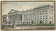 Patent Office in Washington, from the General Government and State Capitol Buildings series (N14) for Allen & Ginter Cigarettes Brands