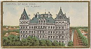 Capitol of New York in Albany, from the General Government and State Capitol Buildings series (N14) for Allen & Ginter Cigarettes Brands
