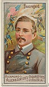 Pierre Gustave Toutant Beauregard, from the Great Generals series (N15) for Allen & Ginter Cigarettes Brands