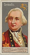 Charles Cornwallis, from the Great Generals series (N15) for Allen & Ginter Cigarettes Brands