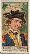 Israel Putnam, from the Great Generals series (N15) for Allen & Ginter Cigarettes Brands