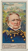 Winfield Scott, from the Great Generals series (N15) for Allen & Ginter Cigarettes Brands