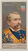 Philip Henry Sheridan, from the Great Generals series (N15) for Allen & Ginter Cigarettes Brands