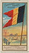 Commodore's Pennant, Belgium, from the Naval Flags series (N17) for Allen & Ginter Cigarettes Brands