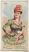 Cadet, from the Parasol Drills series (N18) for Allen & Ginter Cigarettes Brands