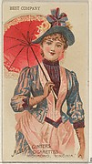 Best Company, from the Parasol Drills series (N18) for Allen & Ginter Cigarettes Brands
