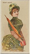 Right About, from the Parasol Drills series (N18) for Allen & Ginter Cigarettes Brands