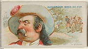 Alexander Bras-de-Fer, In Ambush, from the Pirates of the Spanish Main series (N19) for Allen & Ginter Cigarettes