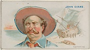 John Evans, Careening, from the Pirates of the Spanish Main series (N19) for Allen & Ginter Cigarettes