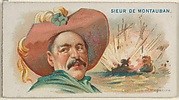 Sieur de Montauban, Explosion of Magazine, from the Pirates of the Spanish Main series (N19) for Allen & Ginter Cigarettes