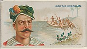 Roc the Brazilian, Capturing Boat's Crew, from the Pirates of the Spanish Main series (N19) for Allen & Ginter Cigarettes