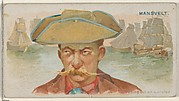 Edward Mansvelt, Setting Out on a Cruise, from the Pirates of the Spanish Main series (N19) for Allen & Ginter Cigarettes