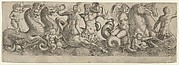 Frieze with Tritons and Nymphs
