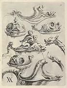 Modelli Artificiosi di Vasi diversi d'argento et altre Opere capriciozi (...) Parte prima (Plate 13)