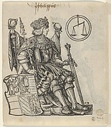 Verso of a Sheet with Philip the Belle, from The Genealogy of Emperor Maximilian I