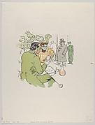 Jeanne, prends sans qu'on te voie . . . , from Le Rire, No. 129, 24 April 1897
