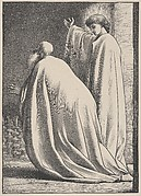 Abram and the Angel (Dalziels' Bible Gallery)