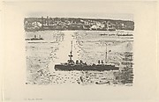 The French Cruiser Le Gloire in the North River