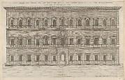 Speculum Romanae Magnificentiae: Exterior of the Farnese Palace