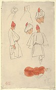 Seven Studies of Arab Men's Costume
