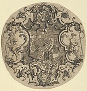 Design for an Ornamental Crest for Silver Plate