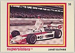 Janet Guthrie, Supersisters No. 53