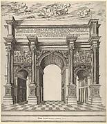 Speculum Romanae Magnificentiae: Arch of Septimius Severus