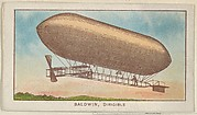 Baldwin, Dirigible, from the Airships series (E40) issued by the Philadelphia Caramel Company