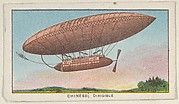 Chinese, Dirigible, from the Airships series (E40) issued by the Philadelphia Caramel Company