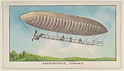 Knabenschue, Dirigible, from the Airships series (E40) issued by the Philadelphia Caramel Company