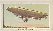 Republique, Dirigible, from the Airships series (E40) issued by the Philadelphia Caramel Company