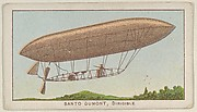 Santo Dumont, Dirigible, from the Airships series (E40) issued by the Philadelphia Caramel Company